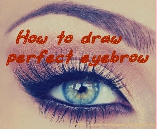 chandra chen yee blog ♫~: '⌣' How to draw perfect eyebrow '⌣'