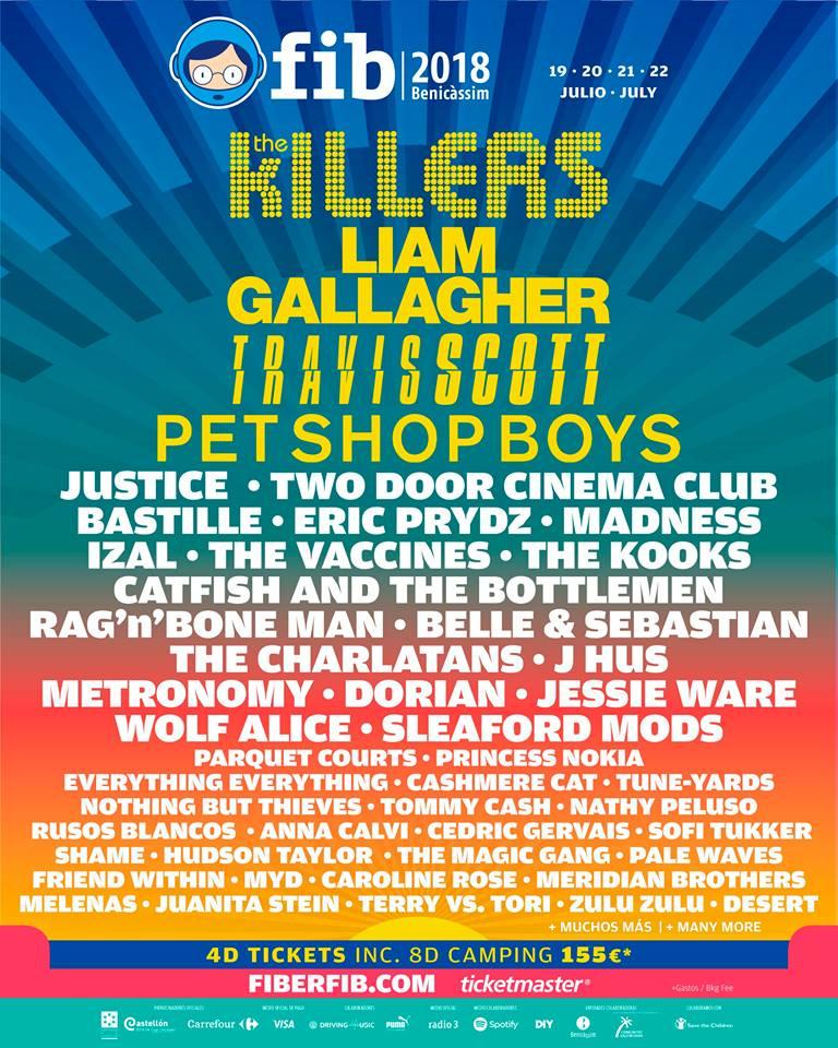Todos ellos se suman a grandes nombres como los de Liam Gallagher ef62d8e6901