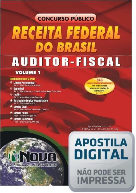 FISCAL DA FEDERAL APOSTILA AUDITOR BAIXAR GRATIS RECEITA