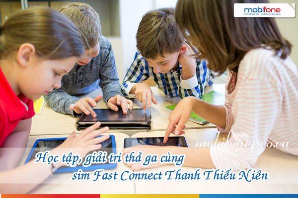 Sim Fast Connect Thanh thiếu niên Mobifone