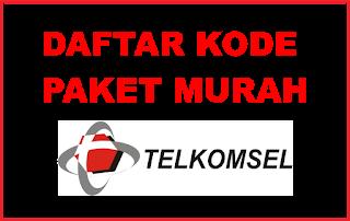 Daftar Kode Dial Paket Internet Telkomsel Murah Tahun 2018
