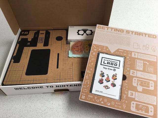 nintendo labo vr kit whats inside box