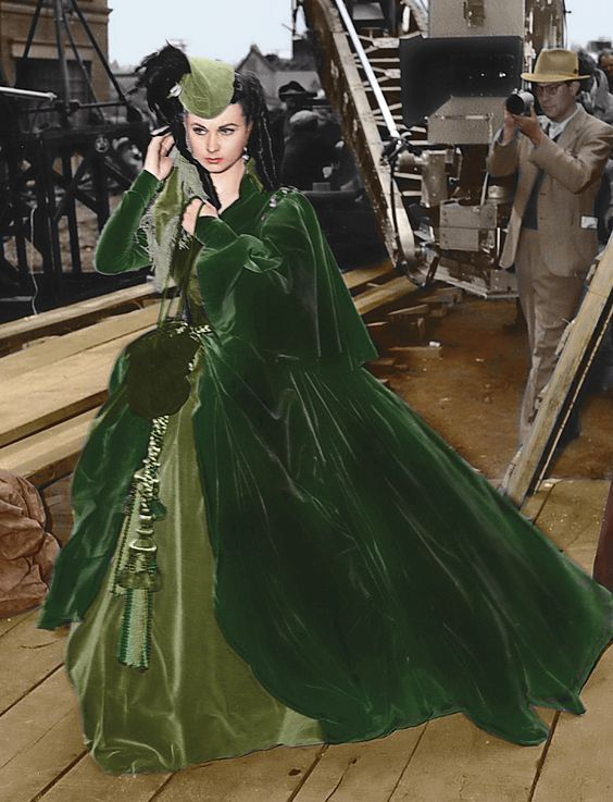 Old Hollywood Films The Costumes Of Gone With The Wind
