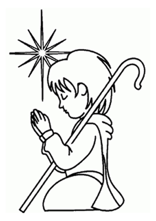 wide frame coloring pages christmas - photo#37