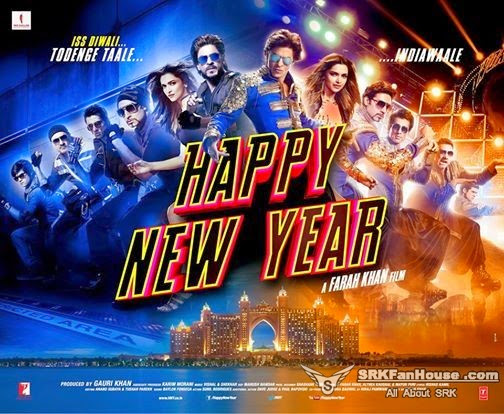 Happy New Year (2014) Movie Poster No. 6
