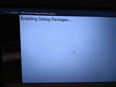 Mengaktifkan HAN dan Debug Package Secara Offline PS3 6