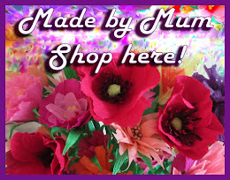"""Made by Mum"" - Please have a look at Mum's ETSY SHOP - 25% goes to the Alzheimer's Society."