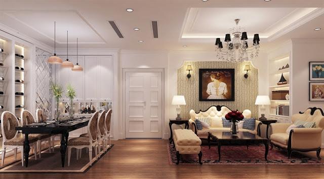 Mẫu thiết kế nội thất căn hộ Mon Bay Hạ Long