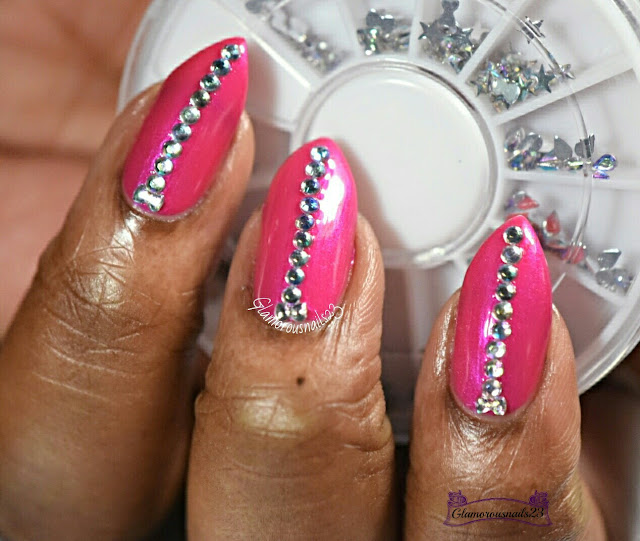 Lady Queen 3D Nail Decorations
