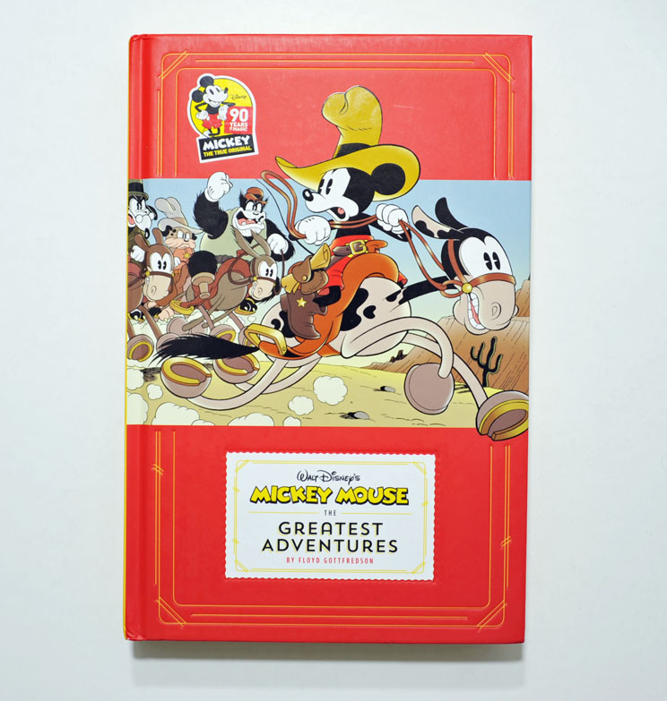 From Fantagraphics we got a book with a selection of daily strip serials  from the 30 s 5c823e5d815ac