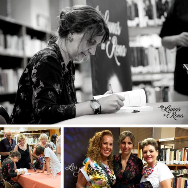 Las lunas de Rona presentacion novela Feria del Libro de Santa Pola