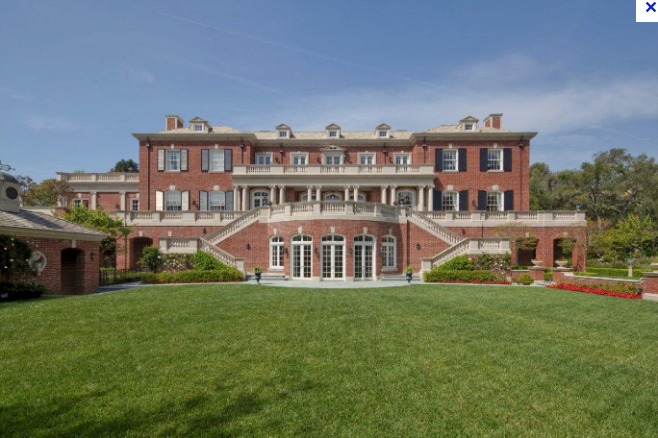 Mansions Amp More Rosewood Estate In Bel Air Ca Listed At