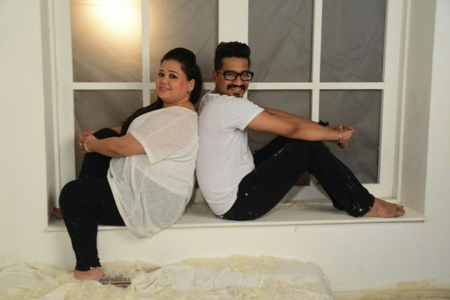 Bharti Singh and Haarsh Limbachiyaa Poses for Pre-Wedding Shoot