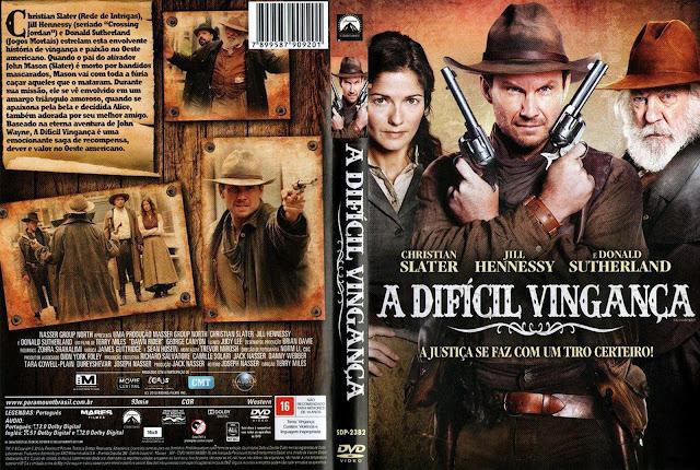 Capa DVD A Difícil Vingança