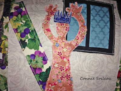 Connie Soileau's Bible Awareness Quilt Block