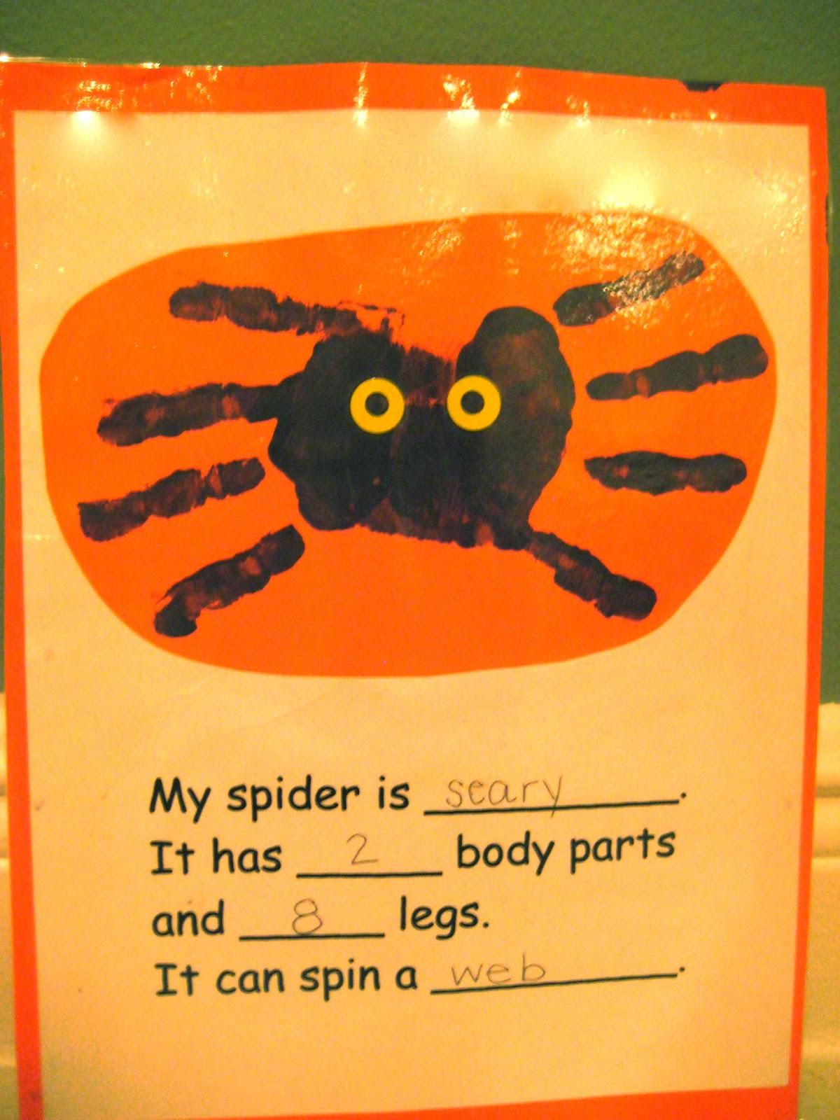 Kindergarten Smiles Spiders