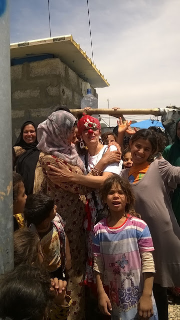 Expedición Iraq con Payasos si Fronteras mayo 2016