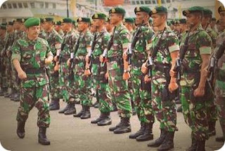 Kodam Bukit Barisan Lepas Satgas Yonif 122 ke Perbatasan RI-PNG