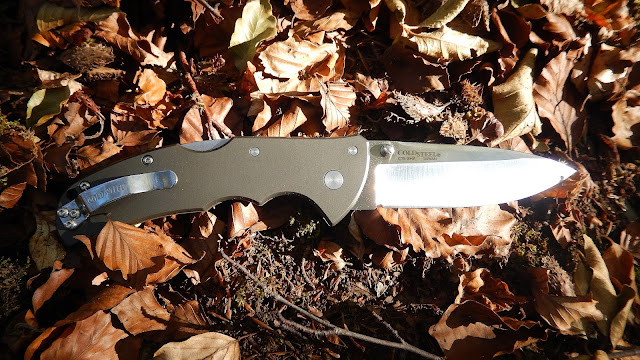 "COLD STEEL ""CODE 4"" Spear Point Plain  007"