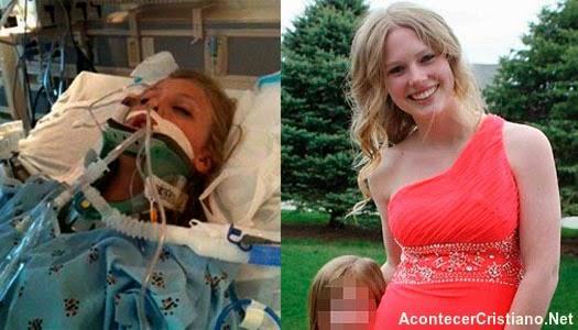 Adolescente con muerte cerebral vuelve a la vida
