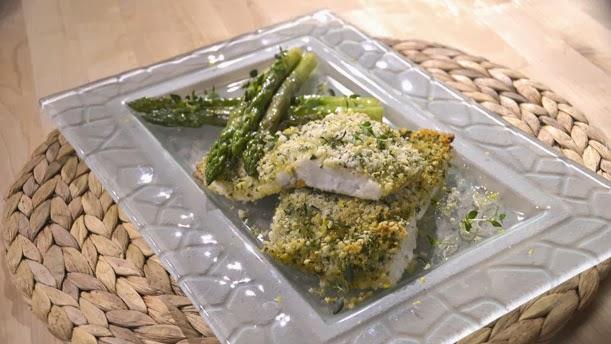 Parmesan ve Maydonuzlu Levrek Nasıl Yapılır