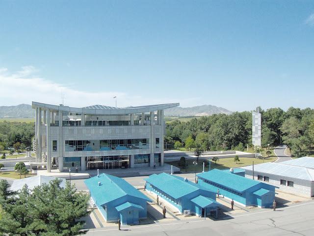 Joint Security Area ou Area de Segurança Conjunta na fronteira das Coreias