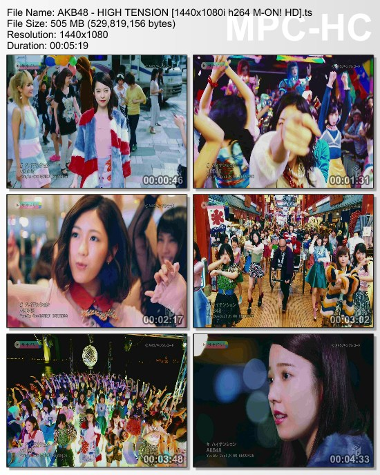 [TV-Variety] AKB48 – ハイテンション (M-ON! HD Full Ver.)