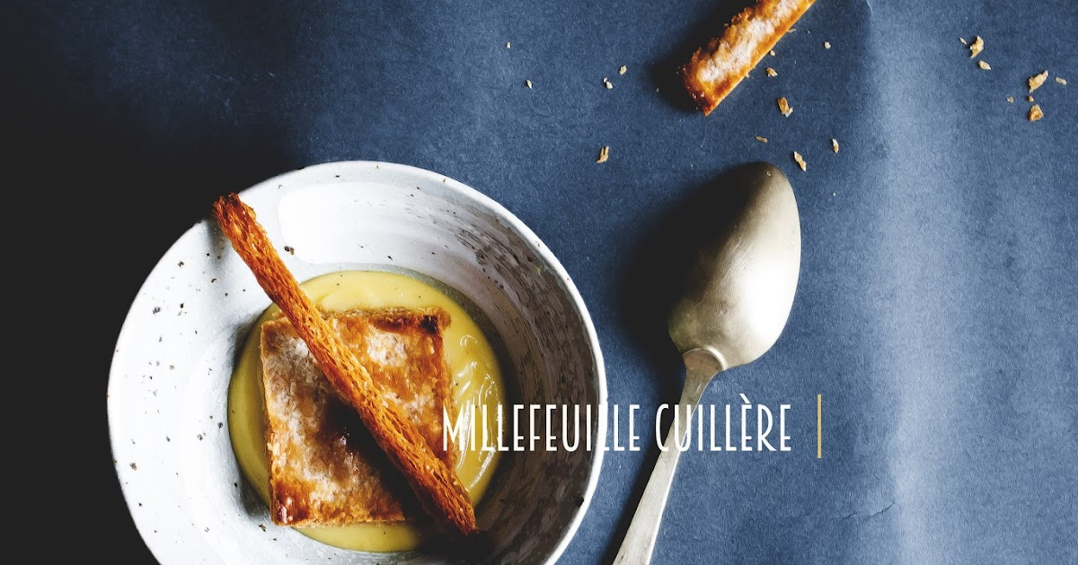 Millefeuille cuillère