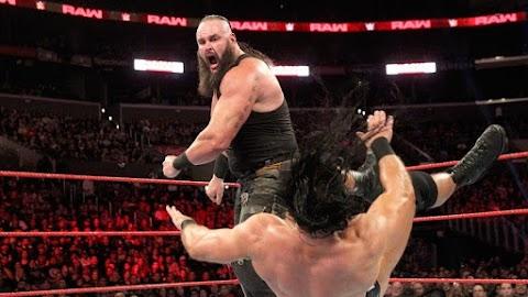 Braun Strowman não estava presente nos bastidores do Monday Night Raw