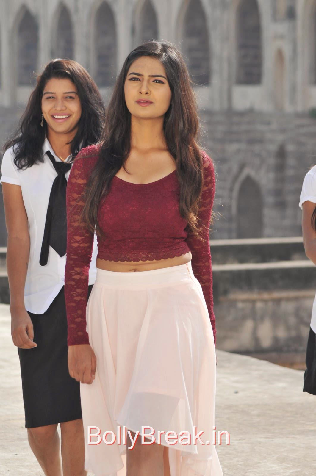 Neha Deshpande Photos in Maroon Top From The Bells Movie, Actress Neha Deshpande Hot HD Stills from The Bells Movie