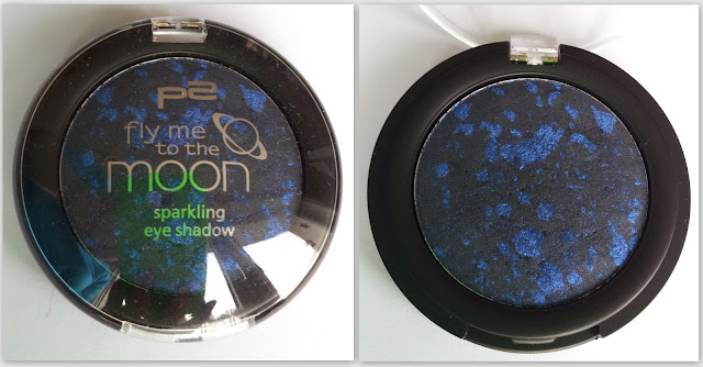 P2 fly me to the moon sparkling eye shadow