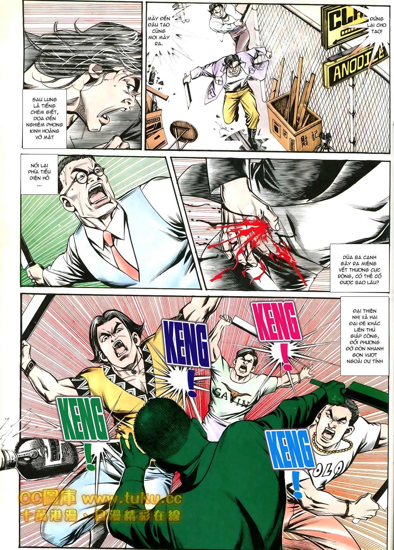 Người Trong Giang Hồ chapter 197: quạ đen báo thù trang 9