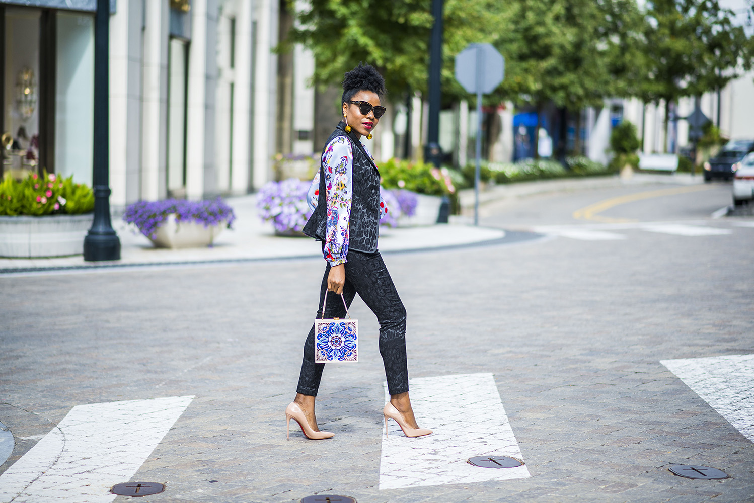 How to mix prints and textures for Fall featuring Hottie & Lord