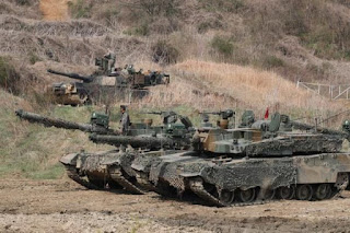 MBT K1A2 Militer Korea Selatan