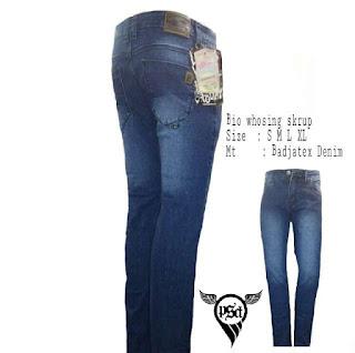 celana jeans skinny pria PSD Birdong Wash