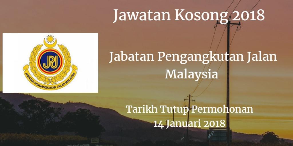Jawatan Kosong JPJ 14 Januari 2018