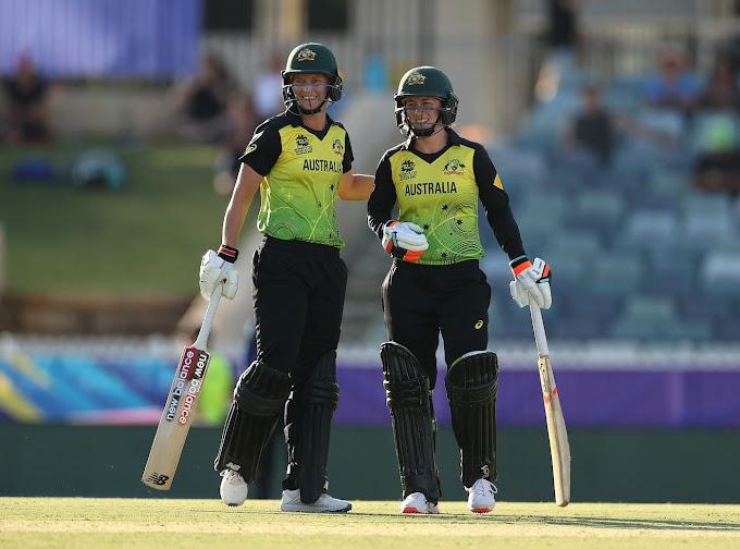 SLW vs AUSW Scorecard T20 Women's World Cup 2020 5th match Australia Women v Sri Lanka Women