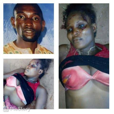 Man on the run after he matcheted his wife to death in Edo State (Graphic pics)
