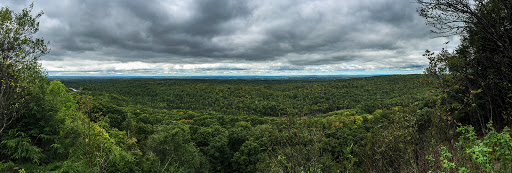View from St. Peter's Dome of the Chequamegon National Forest