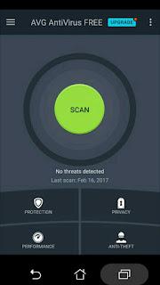 Install aplikasi antivirus merupakan cara untuk mengindari android terinfeksi virus