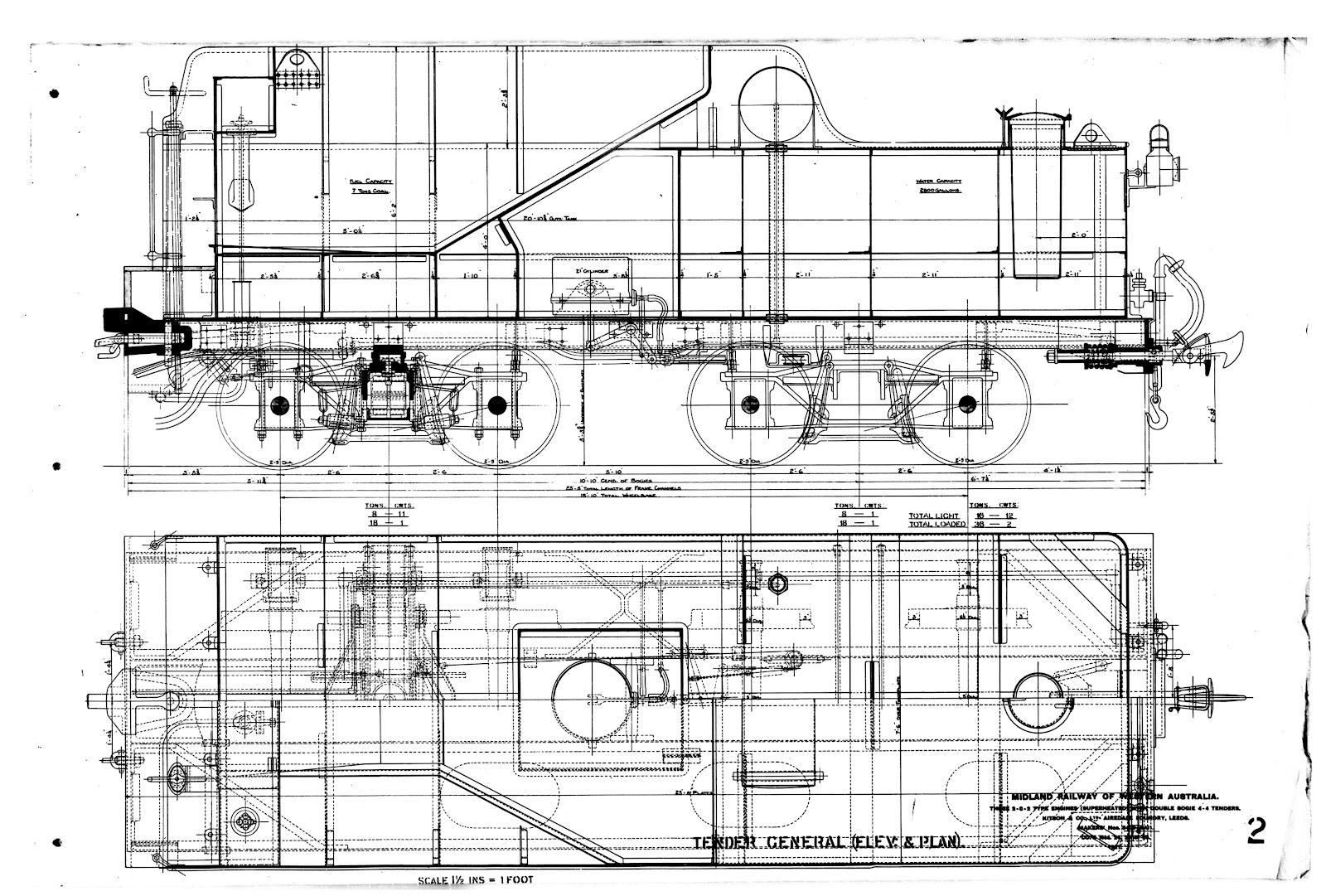Wa Sn3 Models The Mrwa A Class Steam Locomotive