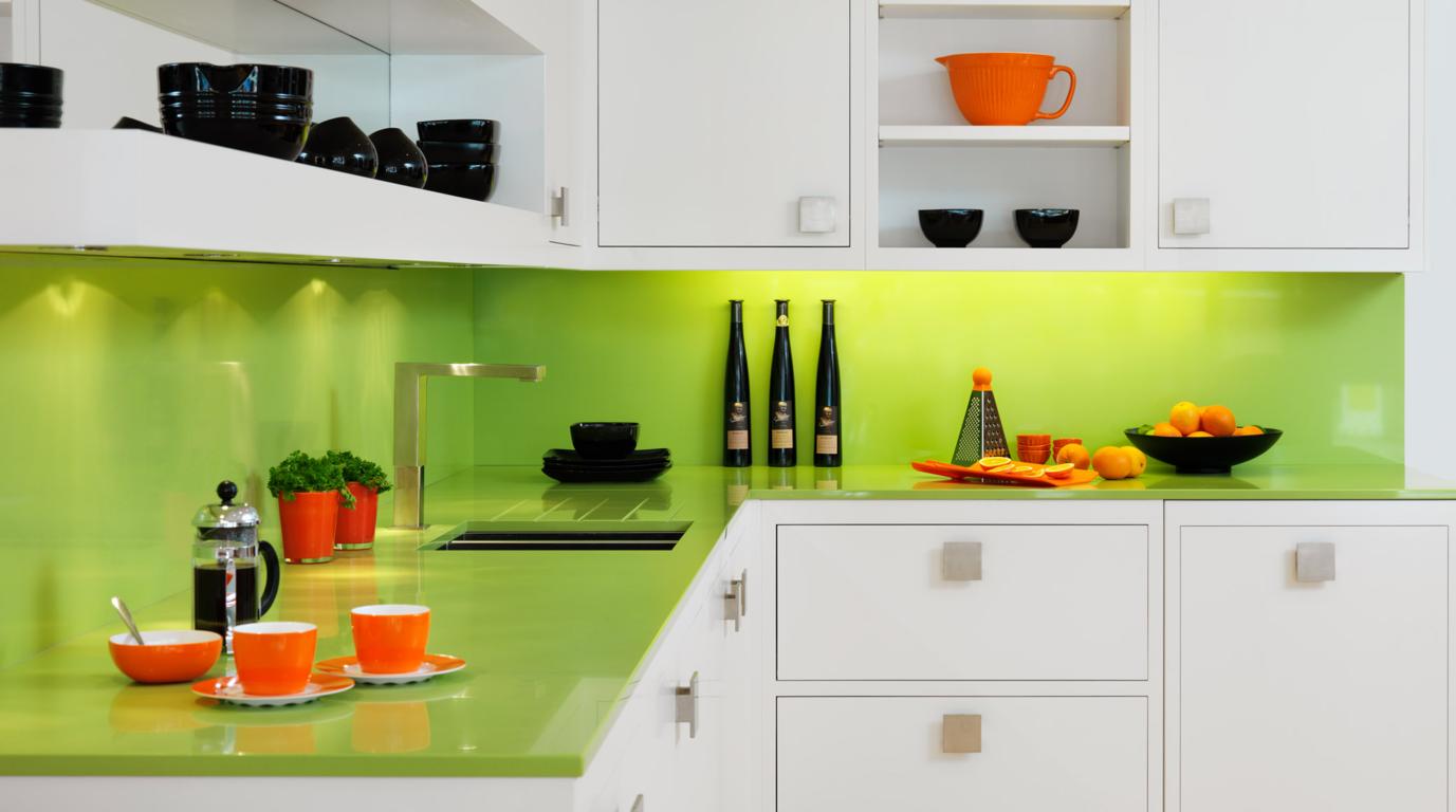 Contoh-Rencana-Dapur-dengan-nuansa-hijau