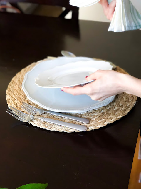 DIY Spring Place Setting On A Budget Everyday Kate