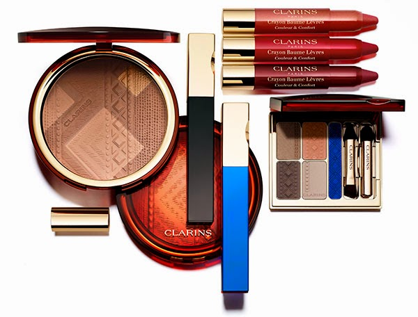 0930f40f669ac Clarins Colors of Brazil Summer Bronzing Compact and Fix MakeUp Overview
