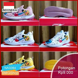 NAG064 Nike Flyknit Rancer Kest Sneakers Wanita Murah Bmgshop