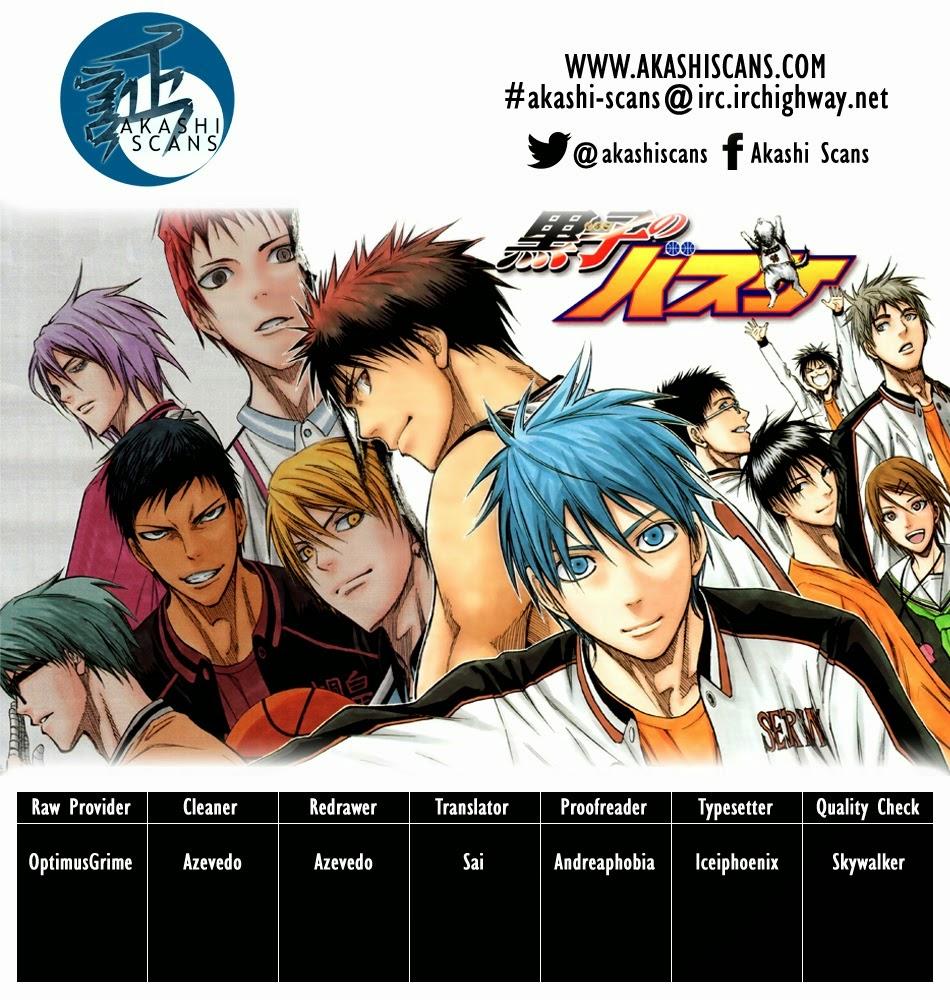 Kuroko No Basket chap 257 trang 3