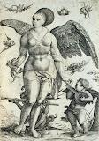 Voluptas by Daniel Hopfer - Mythology Art Prints from Hermitage Museum