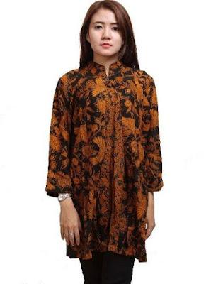 Desain Baju Batik Model Baru