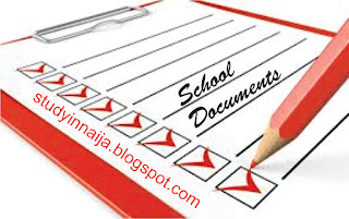 List of Documents you'll must have during School Screening / Clearance Exercise