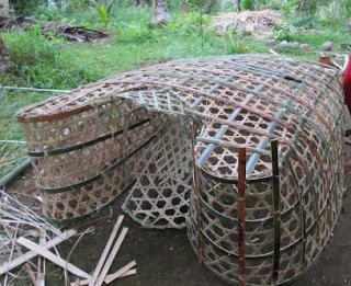Glimpse of crab traps